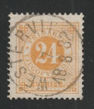 Kappys 042018-114 Sweden Scott 34 Used Retail Value $30 Super Stamp!