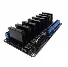 5v 8 Channel OMRON SSR G3MB-202P Solid State Relay Module For Arduino NEW