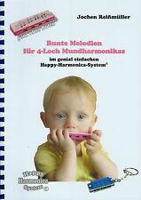 HOHNER SPEEDY Mundharmonika-Spielheft mit 25 Melodien OHNE Noten