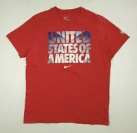 Nike USA United States of America Soccer Slim Fit T-shirt Men's XL