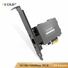 Wake On PCIE Network Card 10/100/1000Mbps Ethernet Gigabit LAN Adapter for PC