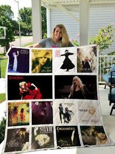 Collection Stevie Nicks For Fan Fleece Blanket, Quilt Blanket Print in US NEW