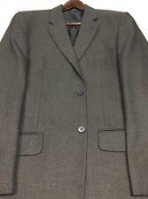42L Alfani Men's 2 Button Blazer Sport Coat Jacket Chestnut Brown Mint!