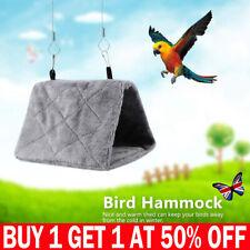Pet bird parrot parakeet budgie warm hammock cage hut tent bed hanging cave LEUK