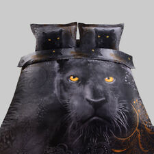 BLACK PANTHER QUILT DOONA COVER ~ KING BED LINEN ~ GREAT GIFT