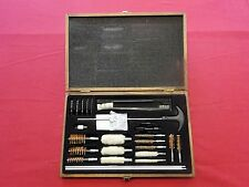 Outers Universal 28 Piece Gun Cleaning Kit with Wood Case OUT701101