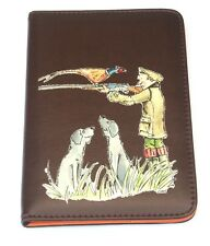 Shooter Cartoon Design Shotgun Certificate Holder or Firearms Licence Wallet