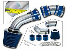 BCP BLUE 96-99 GMC C2500 K2500 Suburban 5.0/5.7 V8 Cold Air Intake + Filter