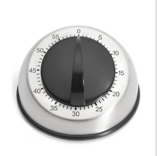 Long Ring Bell Alarm 60-Minute Kitchen Cooking Wind Up Timer Mechanical Loud