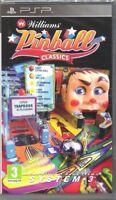 PSP Spiel Williams Pinball Classics für Sony Playstation Portable NEU
