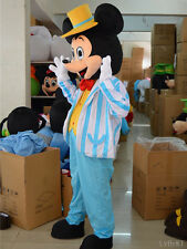 Popular Hot Adult Disney Navy Blue Mickey Mouse Mascot Costume Party Fancy dress