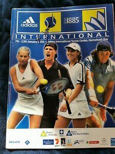Tennis program - SIGNED by Federer, V&S Williams, Hingis, Clement, Haas +++