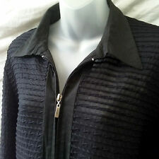 Cordelia St Size 18 Jacket Black Lightweight 3/4Slv Evening Work Casual FREEPOST
