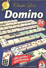 Schmidt Spiele - Classic Line: Domino mit großen Spielsteinen 49207, NEU und OVP