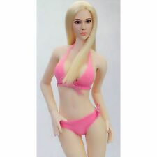 """1/6 Scale Female Pink Bikini Swim Suits Fit For 12"""" Female Action Figures"""