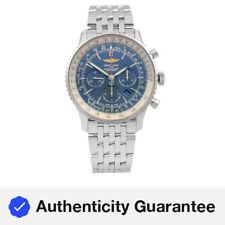 Breitling Navitimer 1 46mm Cronógrafo Acero Reloj con Cuadrante Azul AB012721/CA05-453A