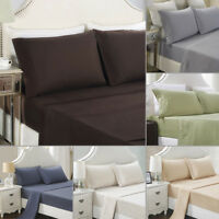 Luxurious Solid Color Pillow Cases Covers Pillowcase Standard Queen/King Size