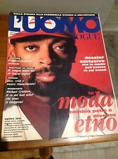 L'UOMO VOGUE N°235 1992 SPIKE LEE MODA JAZZ VINTAGE STYLE FASHION