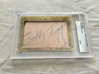 Bobby Riggs 2018 Leaf Masterpiece Cut Signature 1/1 signed autographed card JSA