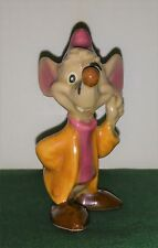 Disney Shaw Cinderella's Jaques the Mouse with Label 1940's vintage ceramic