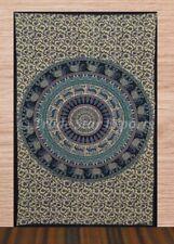 Indian Elephant Tapestry Twin Mandala Wall Hanging Bohemian Hippie Bedding Throw