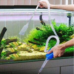 AU_ IC- FP- KF_ FP- Aquarium Clean Vacuum Water Change Siphon Gravel Cleaner Fis