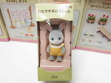 Sylvanian Families - Grey Rabbit - Friend 35 - Japan version - Mini Figure