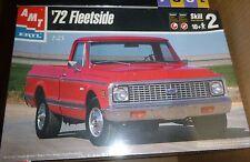 AMT 1972 Chevy Fleetside PickUp truck 1/25 Model Car Mountain KIT FS