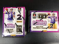 Lot 2 2020 Panini Contenders Draft NFL Football Blaster Box Herbert/Tua? Autos!