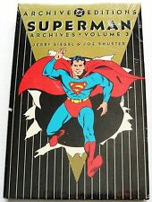 SUPERMAN Archive Edition #3 Mint SEALED! ~ HC Graphic Novel - Siegel & Shuster