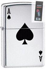 Zippo 24011 lucky ace Lighter + FLINT PACK