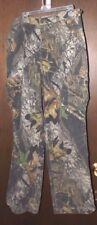 Mossy Oak Hunting Camo Pants Field Staff - Sz M w/Adjustable Waist Straps CLEAN