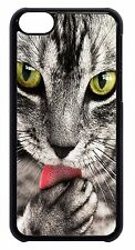 For Apple iPod 4 5 6  Cute Cat Cats Paw Paws Animal Theme Slim Back Case Cover