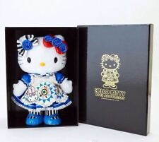"2014 Sanrio Hello Kitty Alice 40th Anniversary Plush Doll Toy 14"" W/T Box Blue-1"