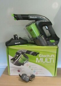 GTECH Multi Grey Handheld Cordless Vacuum Cleaner