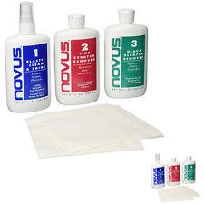 Plastic Polish Kit Novus 7100 8 Oz Each Revitalize and Restore Plastic Acrylic