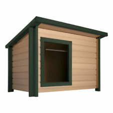 New listing New Age Pet 249194 Rustic Lodge Dog House