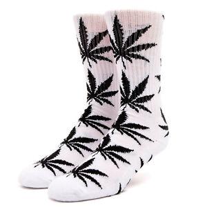 Huf Socks Socken Plantlife White Hanf Marihuana Weed Dope Cannabis