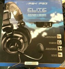 PS3 PS4 Headsets Elite Gaming Headset for PS 3 PS4 Dream Gear