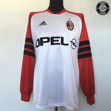 AC MILAN Adidas Football Training Top Shirt Jersey 1998/99 (L) Weah Maldini