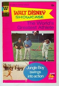 Walt Disney Showcase #14 VG/FN 1973 The World's Greatest Athlete Photo Cover