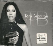 MAXI CD 4 TITRES--TONI BRAXTON--HE WASN'T MAN ENOUGH