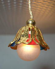1 /12 scale dollhouse 12 volt hanging light # MH 966