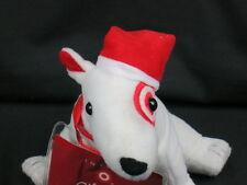 TARGET MASCOT BULLSEYE CHRISTMAS PUPPY DOG GIFT CARD INSERT PLUSH STUFFED ANIMAL