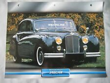Jaguar Mk VII Dream Cars Card