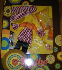 Blythe New 1 Set  x Outfit & Accessories ( Orange ) Dress Box Set ~ Art Attack