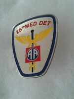 Authentic Beercan Insignia US Army 25th Medical Detachment DUI Unit Crest
