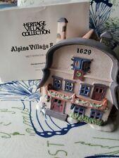 Dept 56 Alpine Village Metterniche Wurst #56189 Christmas House With Cord