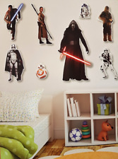 Star Wars Wall Stickers Kids bedroom Decals Poster Art Boys Girls Reusable Gift