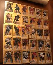 (41) 2000-01 Pinnacle BAP Signature Series Gold Auto card Lot, Stars, Semi's +